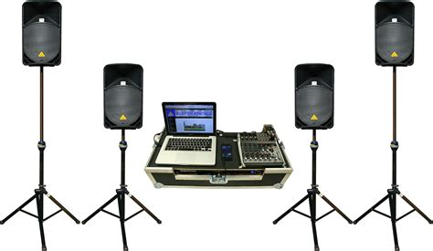 Sound system on rent at Islamabad
