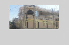 Corner house for rent in Gujrat Shadman Colony